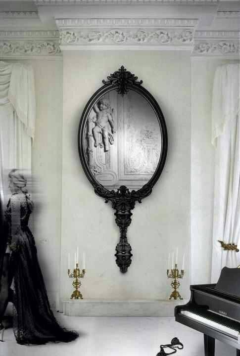 Best 25+ Gothic Mirror Ideas On Pinterest | Black Dressing Tables For Gothic Style Mirrors (View 11 of 20)