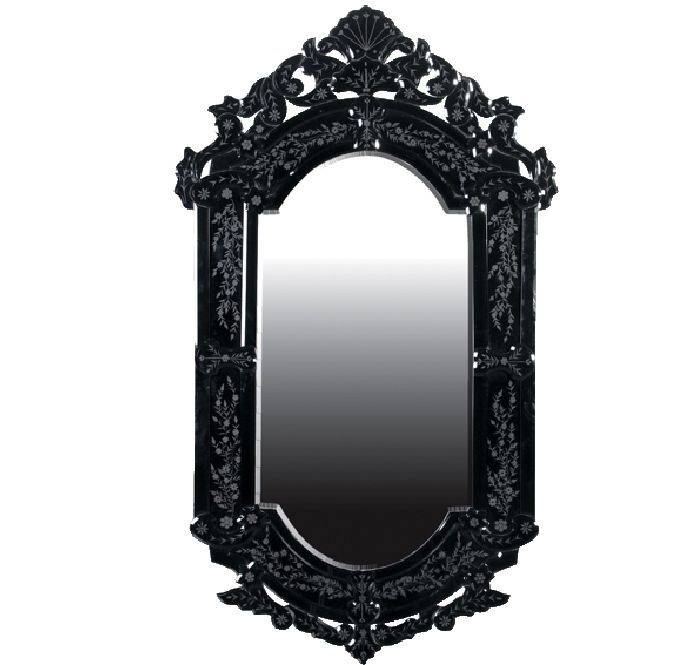 Best 25+ Gothic Mirror Ideas On Pinterest | Black Dressing Tables In Black Vintage Mirrors (#15 of 30)