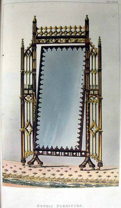 Best 25+ Gothic Mirror Ideas On Pinterest | Black Dressing Tables With Gothic Style Mirrors (View 10 of 20)
