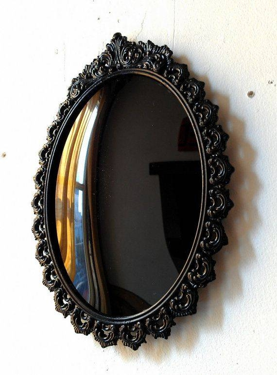 Best 25+ Gothic Mirror Ideas On Pinterest | Black Dressing Tables With Regard To Black Vintage Mirrors (#16 of 30)