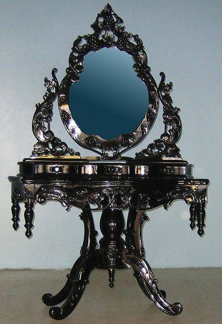 Best 25+ Gothic Mirror Ideas On Pinterest | Black Dressing Tables With Regard To Gothic Style Mirrors (View 17 of 20)