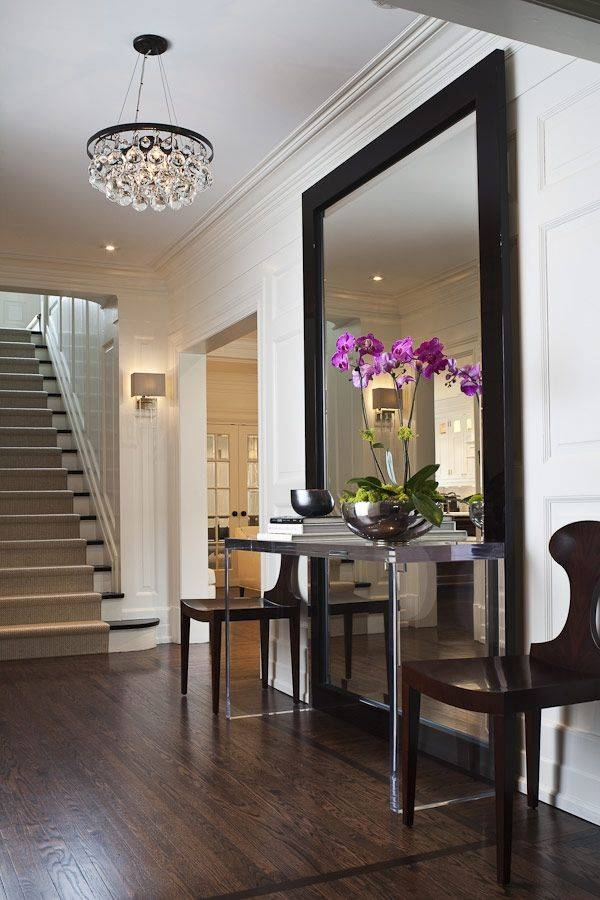 Popular Photo of Large Hallway Mirrors