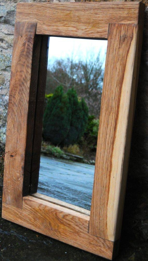 Best 25+ Handmade Framed Mirrors Ideas Only On Pinterest Pertaining To Large Oak Framed Mirrors (#5 of 20)