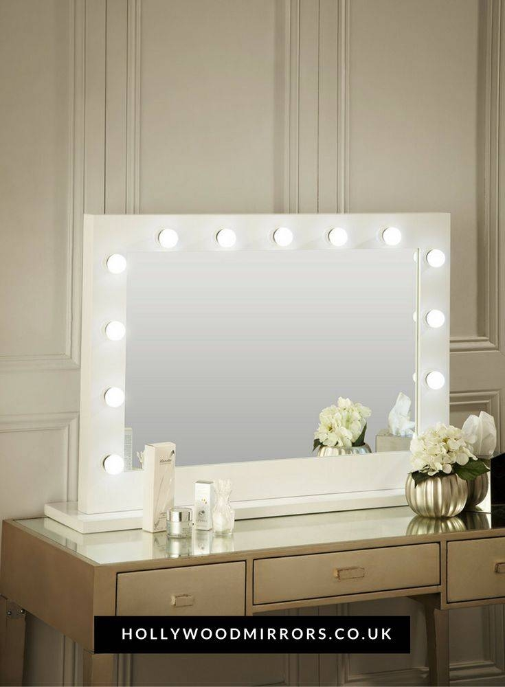 Best 25+ Hollywood Mirror With Lights Ideas Only On Pinterest Pertaining To Illuminated Dressing Table Mirrors (#7 of 20)