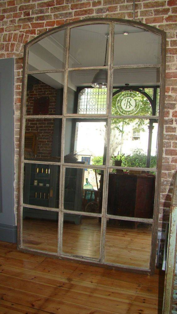 Best 25+ Industrial Mirrors Ideas Only On Pinterest | Mirrors Intended For Vintage Large Mirrors (#14 of 30)