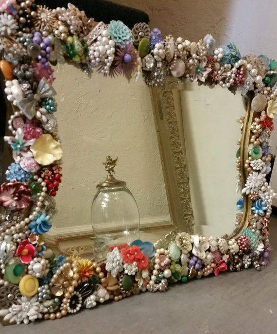 Best 25+ Jewelry Mirror Ideas On Pinterest | Mirror Jewelry For Vintage Stand Up Mirrors (#18 of 30)