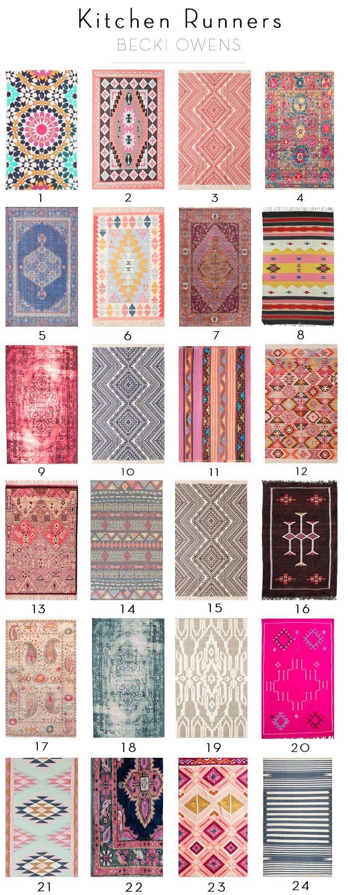 20 best collection of hallway runners beach for Best kitchen rug ideas