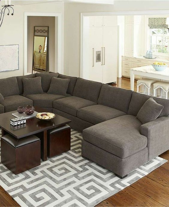 Best 25 L Shaped Sofa Ideas On Pinterest L Couch White L Inside L Shaped Fabric Sofas (View 1 of 15)