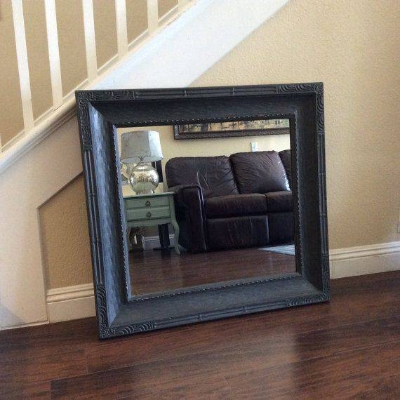 Best 25+ Large Black Mirror Ideas On Pinterest | Vintage Fireplace Intended For Large Black Mirrors (#13 of 30)