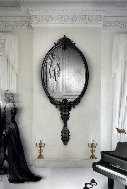 Best 25+ Large Black Mirror Ideas On Pinterest | Vintage Fireplace Throughout Extra Large Black Mirrors (#13 of 30)