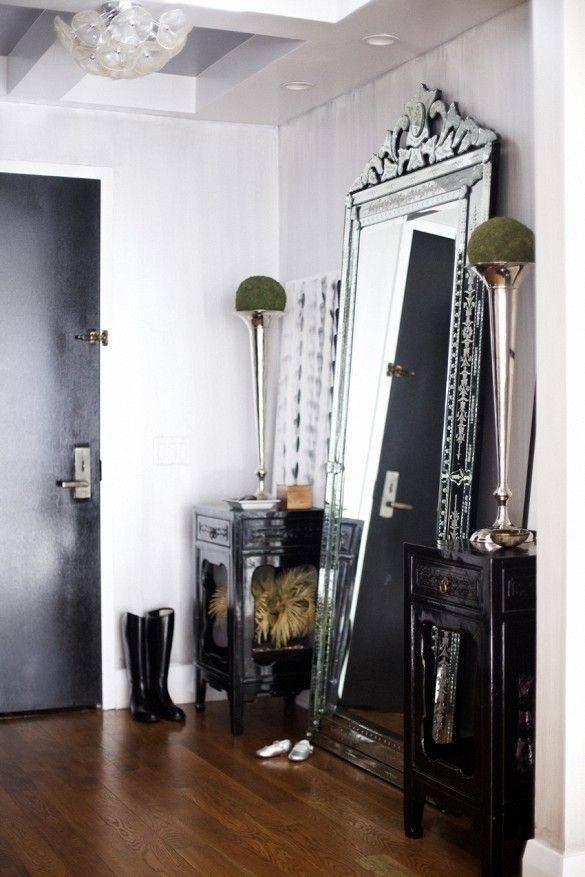 Best 25+ Large Full Length Mirrors Ideas On Pinterest | Rustic Intended For Black Floor Standing Mirrors (#12 of 30)
