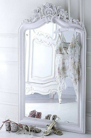 Best 25+ Large White Mirror Ideas Only On Pinterest | White Mirror In Large White French Mirrors (#22 of 30)