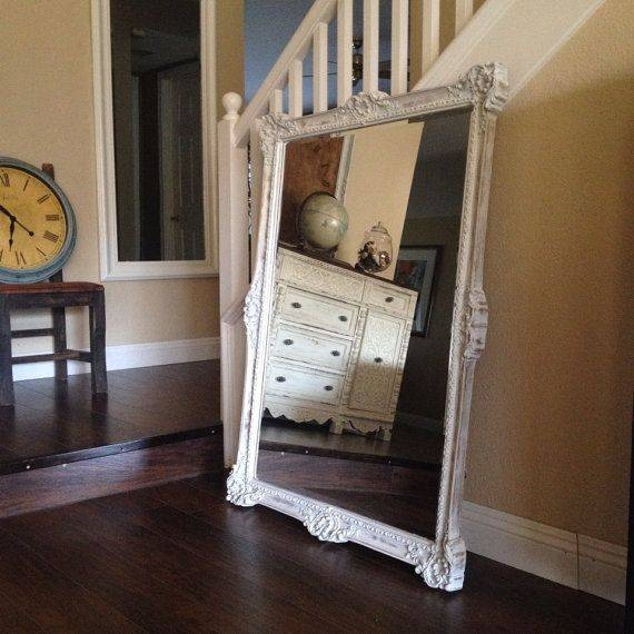 Best 25+ Large White Mirror Ideas Only On Pinterest | White Mirror Inside Shabby Chic White Mirrors (#11 of 30)