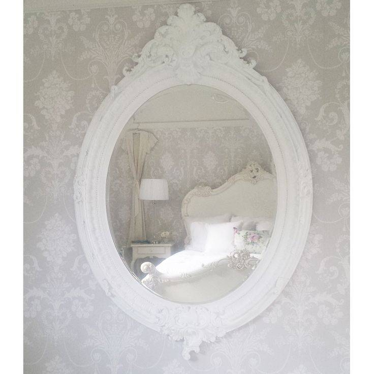 Best 25+ Large White Mirror Ideas Only On Pinterest | White Mirror Pertaining To French White Mirrors (#10 of 15)