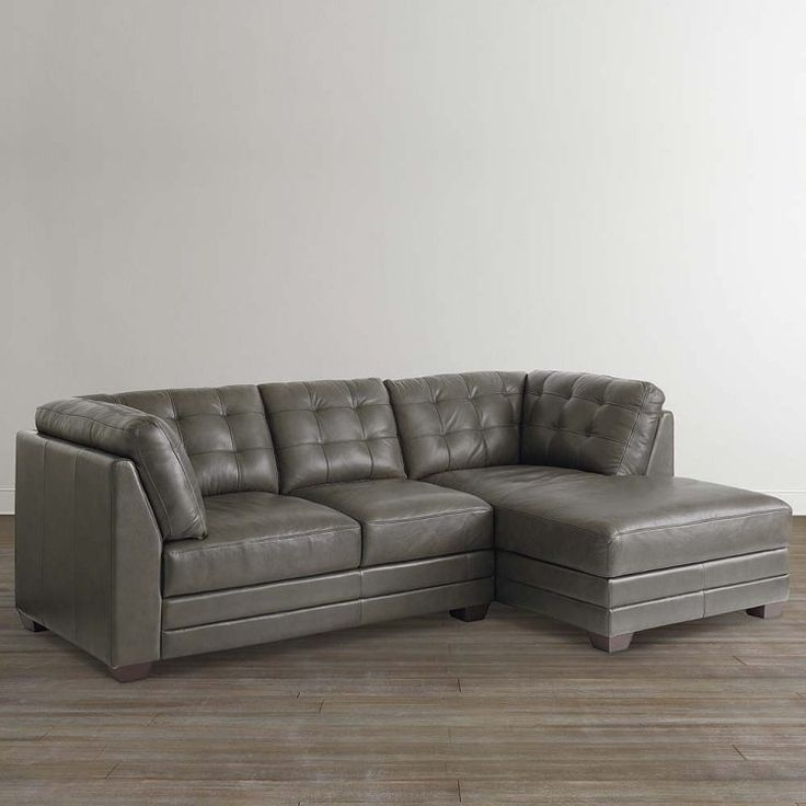 Best 25 Leather Sectional Sofas Ideas On Pinterest Leather For Gray Leather Sectional Sofas (#4 of 15)