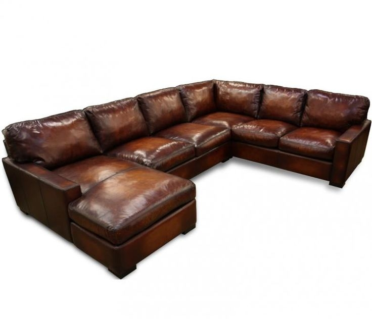 Best 25 Leather Sectional Sofas Ideas On Pinterest Leather With Small Brown Leather Corner Sofas (#5 of 15)