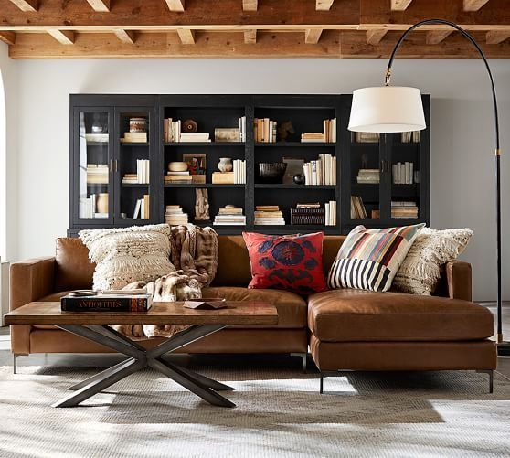 Best 25 Leather Sectional Sofas Ideas On Pinterest Leather With Vintage Leather Sectional Sofas (#7 of 15)
