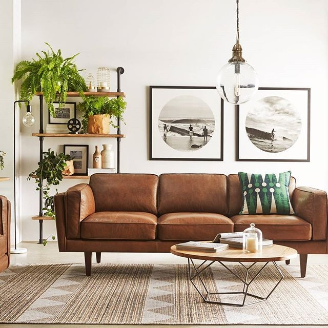 Best 25 Leather Sofas Ideas On Pinterest Leather Couches Brown Throughout Leather Lounge Sofas (#3 of 15)