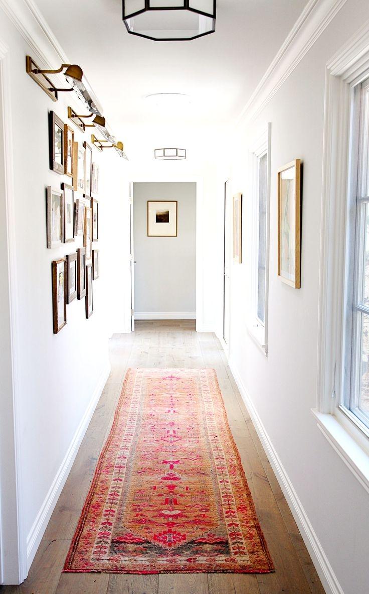Popular Photo of Hallway Rug Runner For Long Hallway