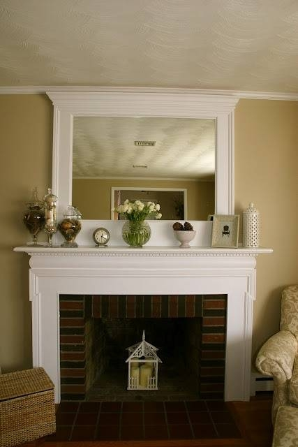 Best 25+ Mantle Mirror Ideas On Pinterest | Fireplace Mirror In Mantelpiece Mirrors (#17 of 30)