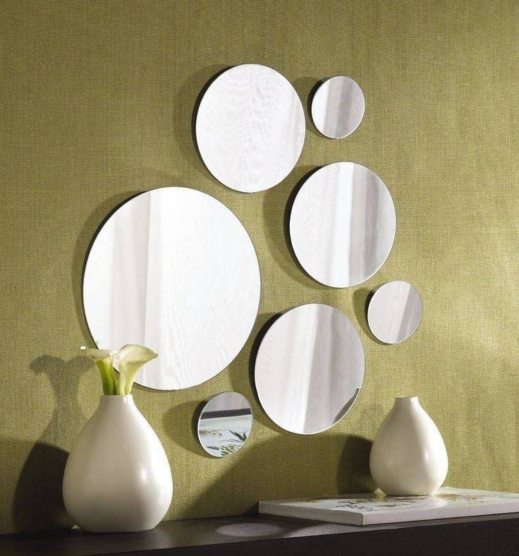 Best 25+ Mirror Collage Ideas On Pinterest | Mirror Wall Collage With Regard To Mirrors Circles For Walls (#9 of 30)