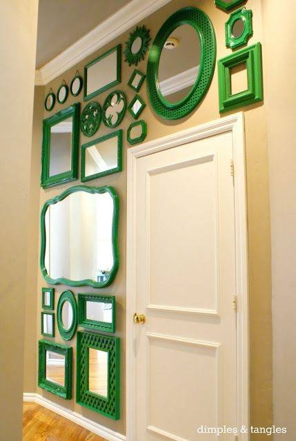 Best 25+ Mirror Gallery Wall Ideas On Pinterest | Wall Of Mirrors With Bright Coloured Mirrors (#11 of 20)