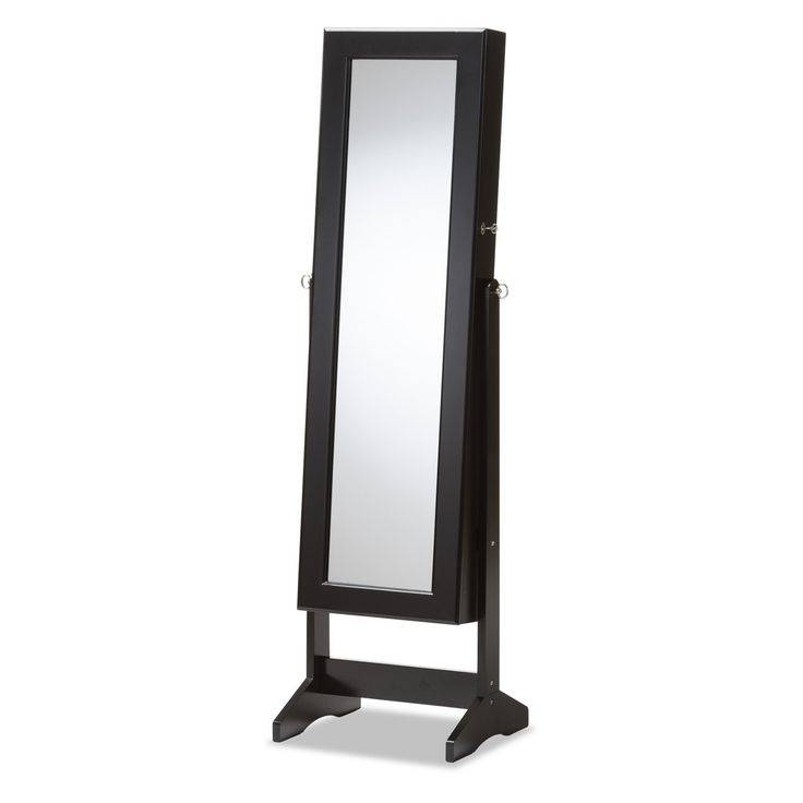 Best 25+ Mirror Jewelry Armoire Ideas On Pinterest | Mirror Store Inside Free Standing Black Mirrors (#7 of 30)