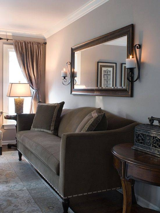 Best 25+ Mirror Over Couch Ideas On Pinterest | Diy Mirror, Cheap In Large Brown Mirrors (#23 of 30)
