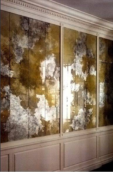 Best 25+ Mirror Panels Ideas On Pinterest | Mirror Walls Pertaining To Antique Round Mirrors For Walls (#14 of 20)