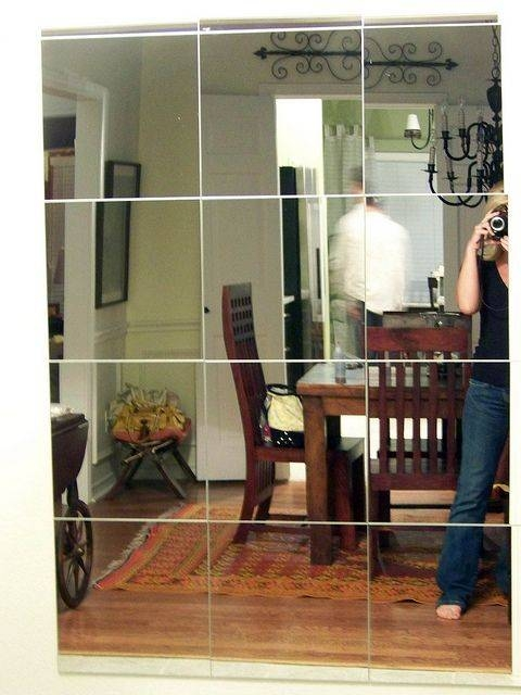 Best 25+ Mirror Tiles Ideas On Pinterest | Antique Mirror Tiles Within Large Square Mirrors (#8 of 30)