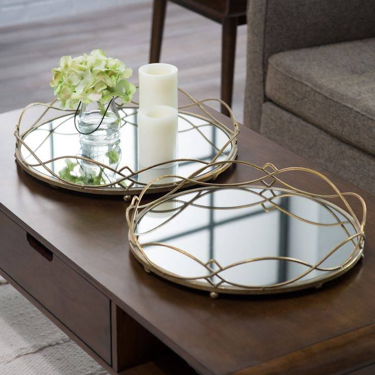Best 25+ Mirror Tray Ideas On Pinterest | Vintage Bedroom Decor With Regard To Decorative Table Mirrors (View 6 of 30)