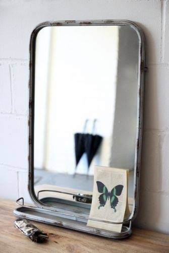 Best 25+ Mirror With Shelf Ideas On Pinterest   Pallet Mirror With Regard To Buy Vintage Mirrors (View 17 of 20)