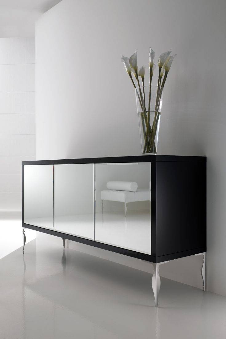 Best 25+ Mirrored Sideboard Ideas On Pinterest | Dining Room Intended For Black And Silver Sideboard (#4 of 20)