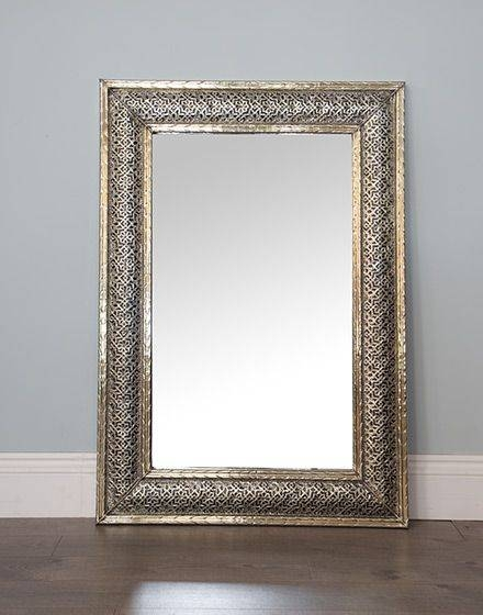 Best 25+ Moroccan Mirror Ideas On Pinterest | Handmade Framed Inside White Metal Mirrors (#11 of 20)