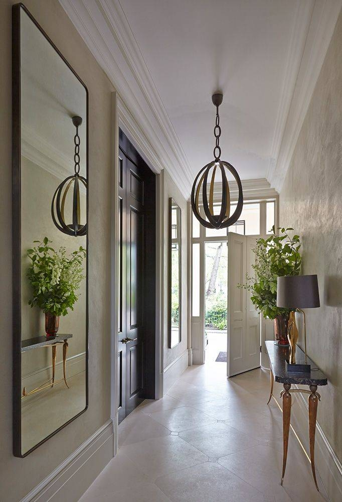 Best 25+ Narrow Entryway Ideas On Pinterest | Narrow Hallway Regarding Large Hallway Mirrors (#16 of 30)