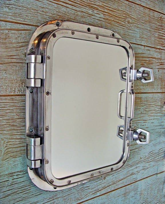 Best 25+ Nautical Bathroom Mirrors Ideas On Pinterest | Nautical With Porthole Style Mirrors (#4 of 20)