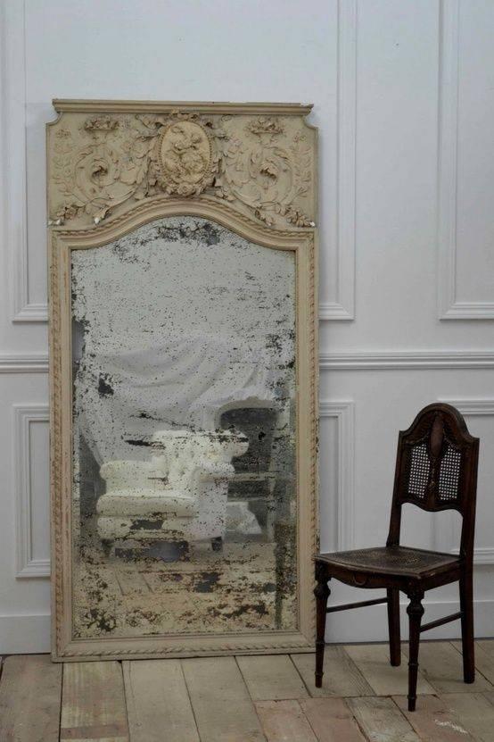 Best 25+ Old Mirrors Ideas On Pinterest | Antique Mirrors, Vintage Intended For Large Vintage Mirrors (#9 of 20)