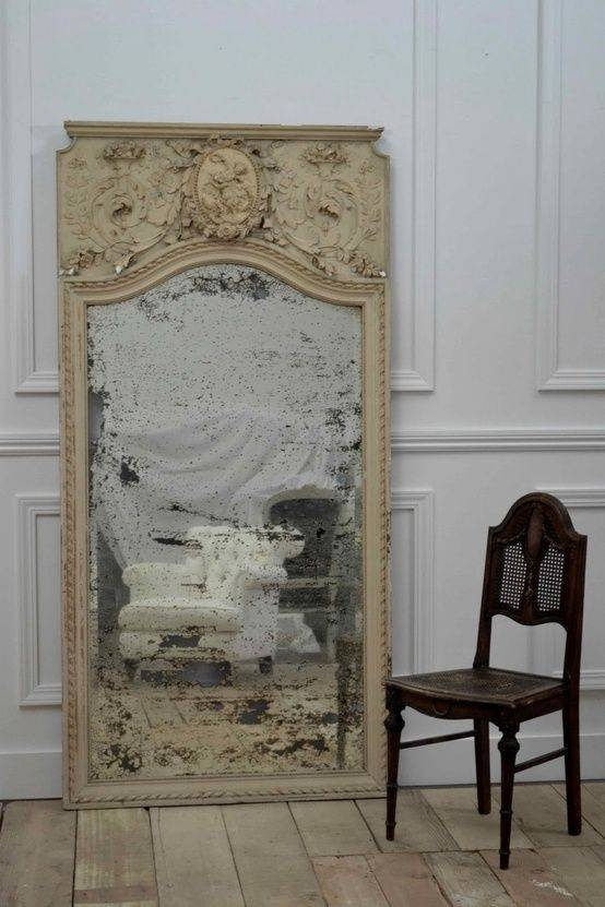 Best 25+ Old Mirrors Ideas On Pinterest | Antique Mirrors, Vintage Pertaining To Vintage Large Mirrors (#16 of 30)