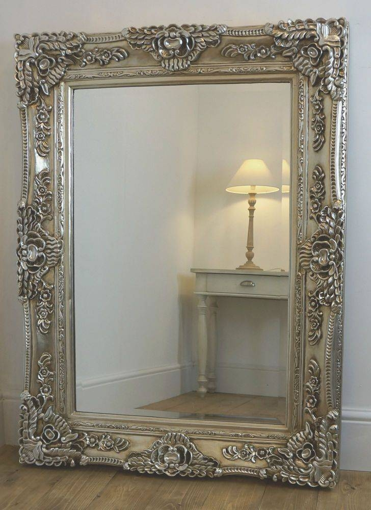 Best 25+ Ornate Mirror Ideas On Pinterest | Floor Mirrors, Large In Champagne Silver Mirrors (#3 of 15)