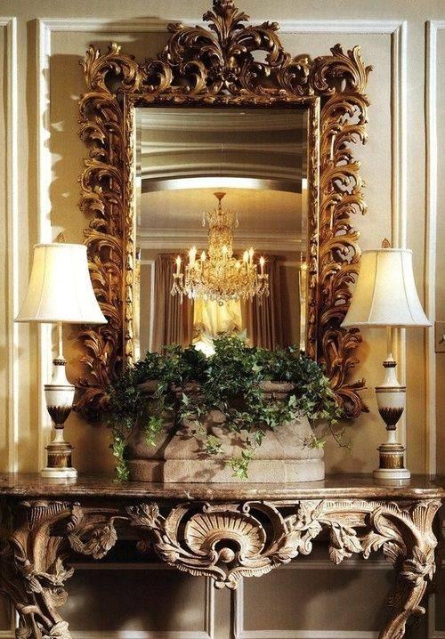 Best 25+ Ornate Mirror Ideas On Pinterest | Floor Mirrors, Large Intended For Large Ornate Mirrors For Wall (#5 of 20)
