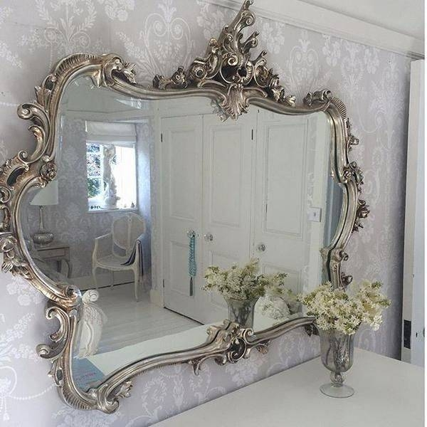 Best 25+ Ornate Mirror Ideas On Pinterest | Floor Mirrors, Large Throughout Large White French Mirrors (#25 of 30)