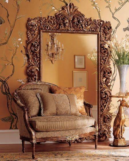 Best 25+ Ornate Mirror Ideas On Pinterest | Floor Mirrors, Large Within Large Ornate Mirrors (#9 of 20)