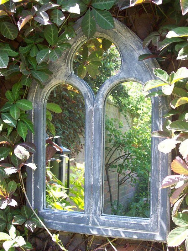 Best 25+ Outdoor Mirror Ideas On Pinterest | Garden Mirrors Inside Gothic Garden Mirrors (#9 of 30)