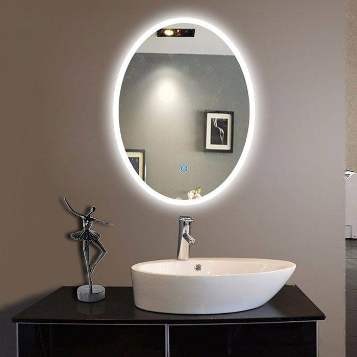 Best 25+ Oval Bathroom Mirror Ideas On Pinterest | Half Bath Regarding High Grove Mirrors (View 10 of 30)