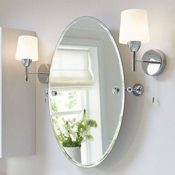 Best 25+ Oval Mirror Ideas On Pinterest | Studio Interior, Simple Throughout Small Bevelled Mirrors (#13 of 30)