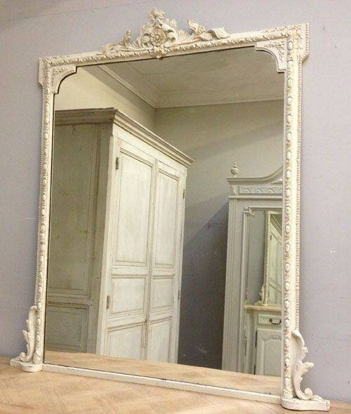 Inspiration about Best 25+ Overmantle Mirror Ideas On Pinterest | Mirror Above Regarding White Overmantle Mirrors (#29 of 30)