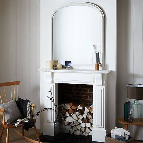 Best 25+ Overmantle Mirror Ideas On Pinterest | Mirror Above With Regard To Large Mantel Mirrors (#15 of 30)