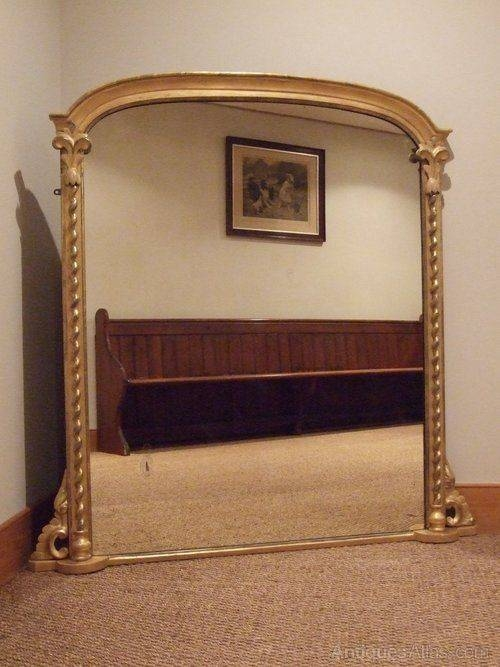 Best 25+ Overmantle Mirror Ideas On Pinterest | Mirror Above Within Vintage Overmantle Mirrors (#12 of 20)