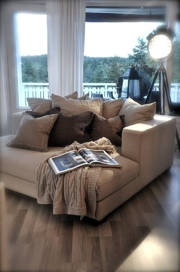 Best 25 Oversized Couch Ideas On Pinterest Small Lounge Throughout Oversized Sofa Pillows (#2 of 15)