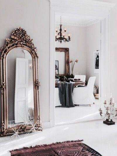 Best 25+ Oversized Mirror Ideas On Pinterest | Large Hallway With Big Antique Mirrors (#13 of 20)